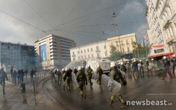 Η απάντηση του υπουργείου Προστασίας του Πολίτη για τα επεισόδια στην Αθήνα: «Aπρόκλητα το ΚΚΕ συγκέντρωσε 1.500 άτομα - Xρησιμοποίησαν παραπλανητικά SMS»