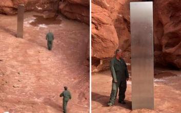 Η παράξενη ανακάλυψη πιλότου ελικοπτέρου σε απομακρυσμένο μέρος ανάμεσα στους βράχους