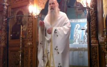 Ιερέας στη Θεσσαλονίκη: Δεν είναι κορονοϊός, είναι διαβολοϊός - Θεϊκή παρέμβαση ο σεισμός στη Σάμο
