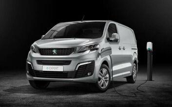 Peugeot e-Expert: Το ηλεκτρικό van στην Ελλάδα τον Ιανουάριο