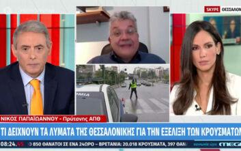 Πρύτανης ΑΠΘ: Τι δείχνουν τα στοιχεία από τα λύματα της Θεσσαλονίκης για την εξέλιξη του κορονοϊού