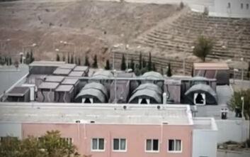Θεσσαλονίκη: Στήθηκε κινητό νοσοκομείο στο παρκινγκ του 424 Στρατιωτικού Νοσοκομείου