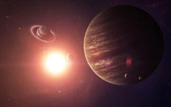 Οι πλανήτες Δίας και Κρόνος ετοιμάζονται για «γάμο» για πρώτη φορά από τον Μεσαίωνα