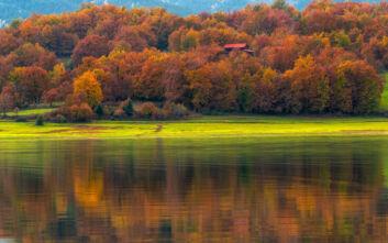 Φθινοπωρινά τοπία στην Ελλάδα που μοιάζουν με πίνακα ζωγραφικής