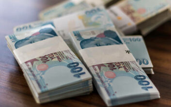 Σε υποχώρηση η τουρκική λίρα μετά την ανατίμηση σε υψηλό διμήνου