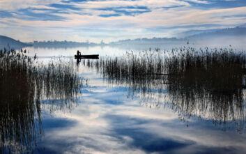 Η μικρή και άγνωστη λίμνη της Φλώρινας