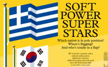 Η Ελλάδα στο εξώφυλλο του περιοδικού Monocle ως μια soft power σούπερ σταρ