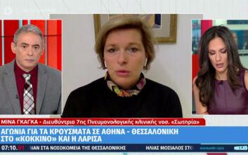 Μίνα Γκάκα: Το σύστημα υγείας είναι στα όριά του, κυρίως στη Βόρεια Ελλάδα