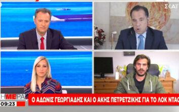 Γεωργιάδης για lockdown: Στόχος να ανοίξουμε τα Χριστούγεννα, εξαρτάται από την πειθαρχία μας