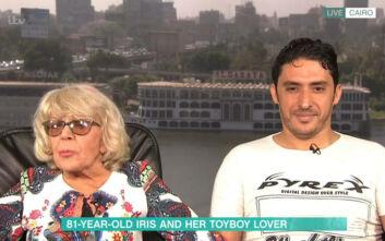 Μεγάλη Βρετανία: 80χρονη παντρεύτηκε 35άρη Αιγύπτιο – «Δεν κυνηγάω τα λεφτά της»