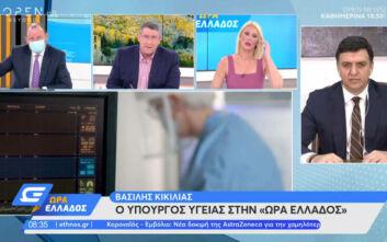 Κικίλιας: Αυτά τα Χριστούγεννα θα είναι ξεχωριστά - Όλη η Ελλάδα έχει υψηλό ιικό φορτίο