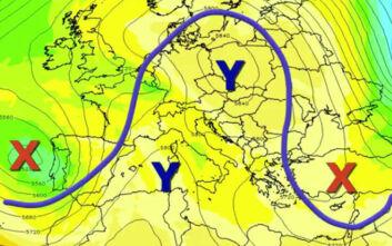 Καιρός: Ο εμποδισμός τύπου Ω που θα θυμίσει κάτι από χειμώνα τις επόμενες ημέρες