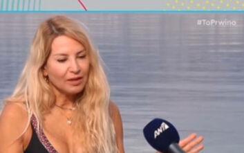 Η Αννίτα Ναθαναήλ εξηγεί πως «δεν σκίζει βρακιά κάθε μέρα» με τον σύζυγο της, Κρις Χαμπερτ
