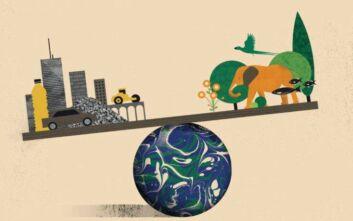 Τα ανθρωπογενή υλικά θα ξεπεράσουν φέτος σε μάζα το σύνολο της βιομάζας της Γης