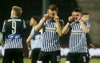Νίκη και στο -1 με 10 παίκτες ο ΠΑΟΚ, 2-0 τον Αστέρα Τρίπολης στην Τούμπα