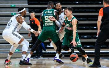 Παναθηναϊκός: Αρνητικό ρεκόρ στην EuroLeague τα 17 τρίποντα