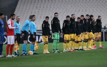 ΑΕΚ - Μπράγκα: 0-1 στο 7' ο Τορμένα