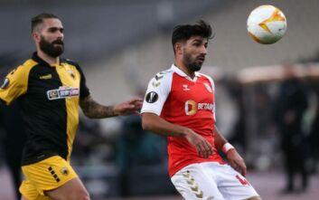ΑΕΚ - Μπράγκα: 1-3 στο 45' ο Ρικάρντο Όρτα