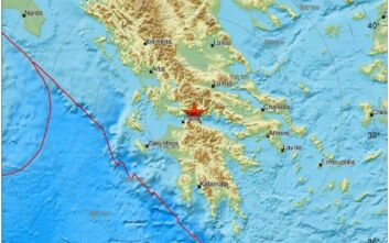 Σεισμός τώρα στη Ναύπακτο