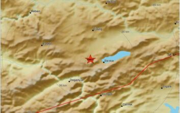 Ισχυρός σεισμός πριν από λίγο στην Τουρκία