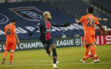 Champions League: Η Παρί συνέτριψε με 5-1 την Μπασακσεχίρ, η Αταλάντα απέκλεισε τον Άγιαξ