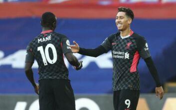 Premier League: Η Λίβερπουλ διέσυρε με 7-0 την Κρίσταλ Πάλας εκτός έδρας