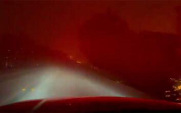 Bond Fire: Κόλαση φωτιάς στην Καλιφόρνια, χιλιάδες εγκατέλειψαν τα σπίτια τους