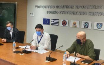 Έκτακτη σύσκεψη Τσιόδρα, Χαρδαλιά, Χρυσοχοΐδη με δημάρχους για την κατάσταση σε 6 «κόκκινες» περιοχές