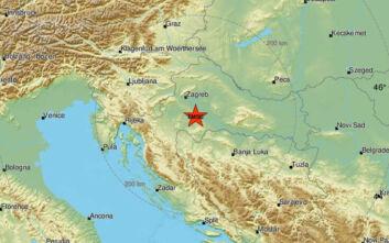 Ισχυρός σεισμός τώρα στην Κροατία
