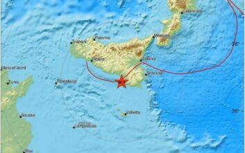 Δυνατός σεισμός τώρα στην Ιταλία