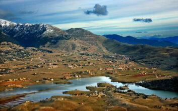 Η άγνωστη εποχιακή λίμνη του Παρνασσού