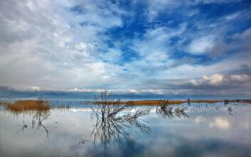 Το μελαγχολικό τοπίο της λίμνης Δοϊράνης