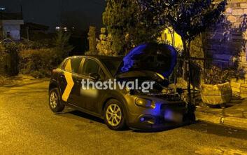 Εμπρηστική επίθεση σε εταιρικό αυτοκίνητο στη Θεσσαλονίκη