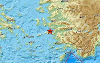 Σεισμός τώρα στη Σάμο
