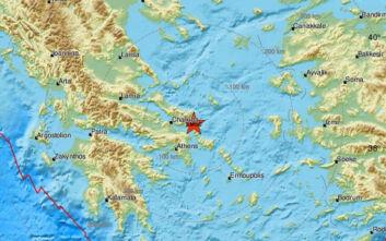 Σεισμός τώρα στην Εύβοια, έγινε αισθητός και στην Αττική