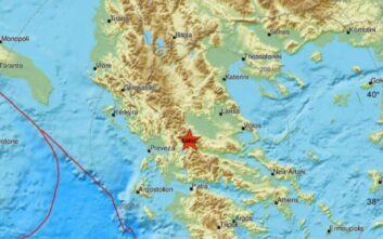 Σεισμός τώρα στην Ευρυτανία