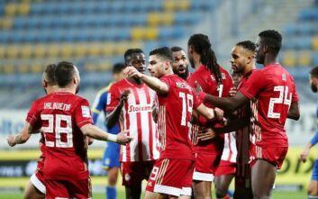 Περίπατος για τον Ολυμπιακό στην Τρίπολη, 4-0 τον Αστέρα και +9