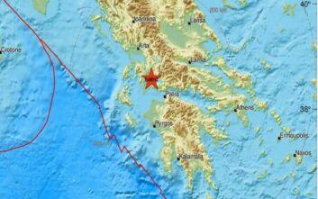 Σεισμός τώρα κοντά στο Αίγιο