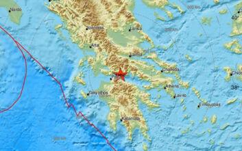Σεισμός τώρα στο Αίγιο