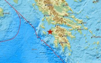 Σεισμός τώρα στην Αμαλιάδα