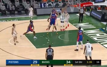NBA: Οι Μπακς γονάτισαν μαζί με τους Πίστονς μετά τα επεισόδια στο Καπιτώλιο