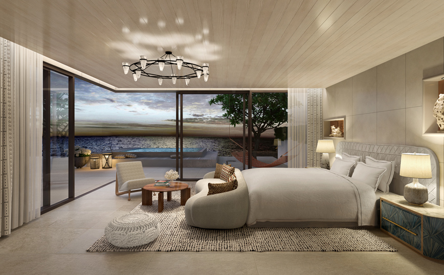 OneOnly Aesthesis Villa One Master Bedroom