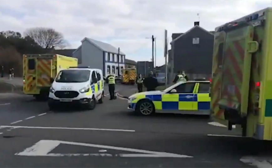 Συναγερμός στην Ουαλία για «σοβαρό περιστατικό» – Αναφορές για θύματα
