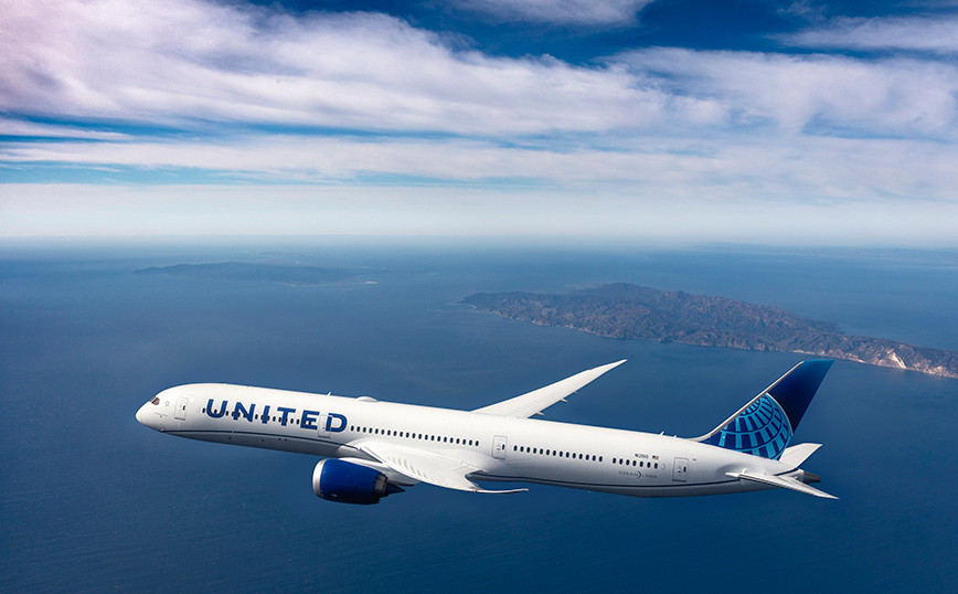 United Airlines B787