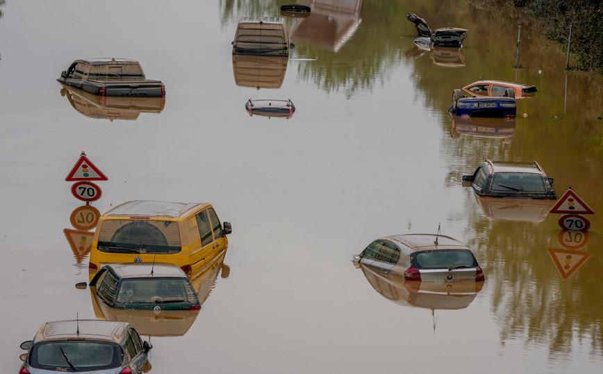 Φονικές πλημμύρες στη Γερμανία: Αγνοούνται ακόμα 170 άτομα
