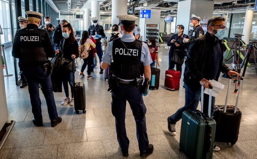 Virus Outbreak EU Travel