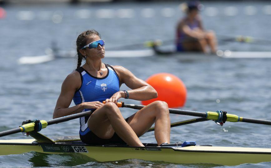 Ολυμπιακοί Αγώνες 2020- Κωπηλασία: 10η θέση για την Αννέτα Κυρίδου στην τελική κατάταξη