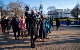 Ο Μπάιντεν έφτασε στον Λευκό Οίκο