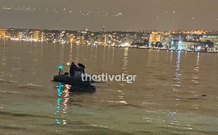 Συναγερμός στη Θεσσαλονίκη με πτώμα που επέπλεε στον Θερμαϊκό