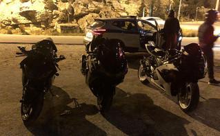 Βρήκαν άδειους δρόμους και έτρεχαν με 184 χιλιόμετρα μέσα στην Αθήνα